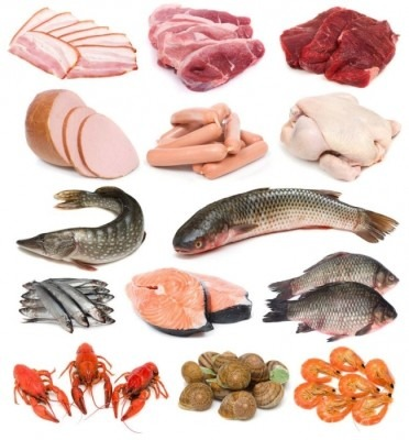 продукты с железом