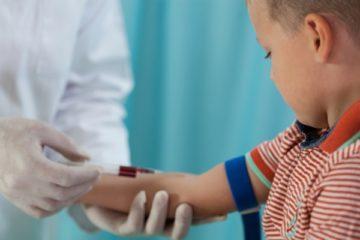 Тромбокрит у ребенка понижен